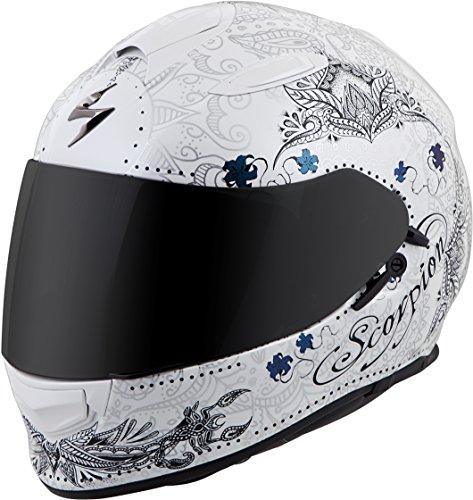 Scorpion EXO-T510 Azalea Helmet Black/Gold (Black, Medium)