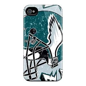 Excellent Design Philadelphia Eagles Case Cover For Iphone 4/4s