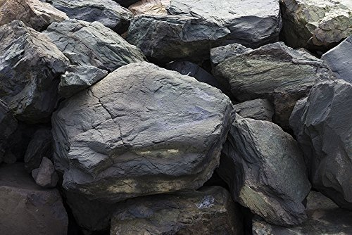 Aquarium Background - Intense Rock - Detailed - 3D Look - Various Sizes (18x48) by BannersNStands