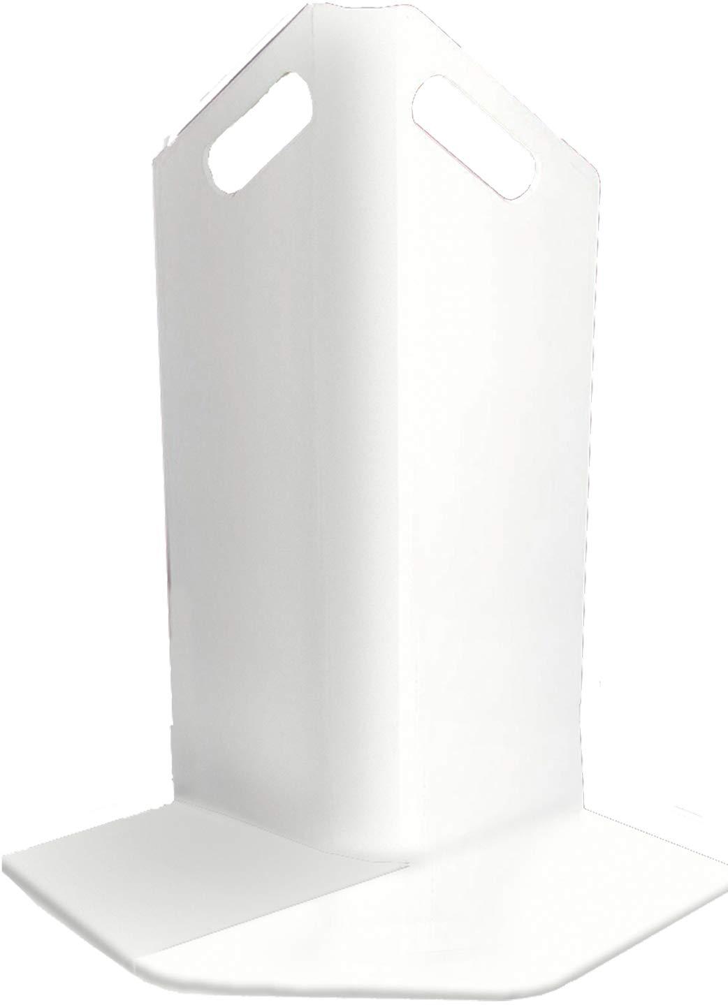 Groom Industries Corner Guard, White 10 Pack