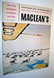 img - for Maclean's, Canada's National Magazine, March 15, 1958 - How Telephone Swindlers Operate book / textbook / text book
