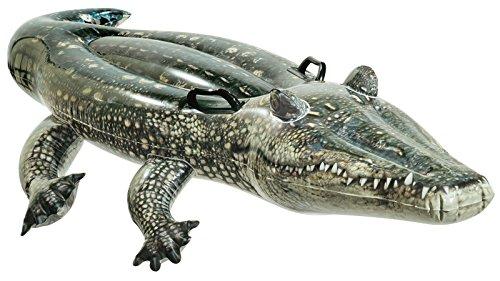 Intex Realistic Gator Ride-one, Age 3+ (Inflatable Alligator)