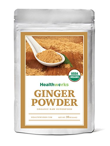 Healthworks Ginger Powder Raw Organic product image