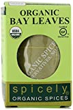 Kyпить Spicely Organic Bay Leaves Turkish Whole 0.10 Ounce ecoBox Certified Gluten-Free на Amazon.com