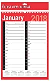 2018 A3 Extra Wide 2 Column Month To View Spiral Bound Wall Planner Calenda