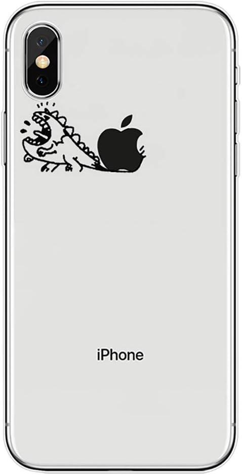 Bakicey Z06 Coque de Protection Ultra Fine en Silicone Souple pour iPhone XR Transparent