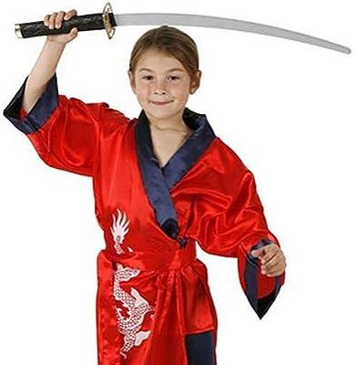Carnaval Disfraz samurai 3-4: Amazon.es: Juguetes y juegos