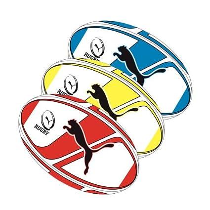 Puma PowerCat Graphic - Balón de rugby rojo rosso Talla:5: Amazon ...