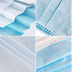 3-Ply Disposable Face Mask - fabric and stuffing
