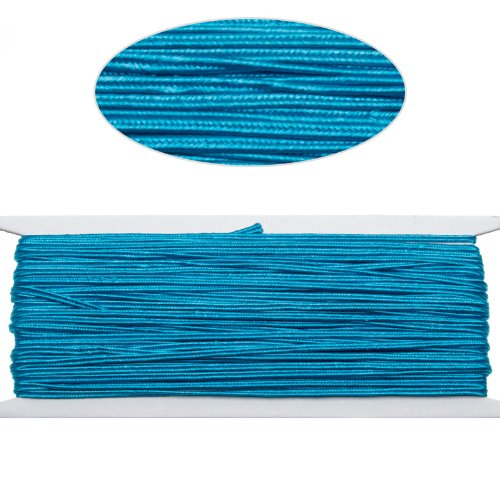 Repi Blue Color Soutache Cord for Jewelry Making-65 Feet-2.5mm ()