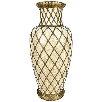 Amazon Large Japanese Pottery Vase With Craquelure Glaze And