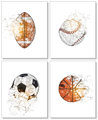 Kids Room Sports Posters Basketball product image