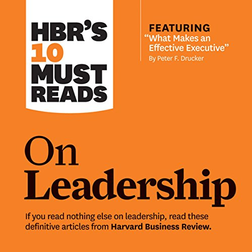 HBR's 10 Must Reads on Leadership cover