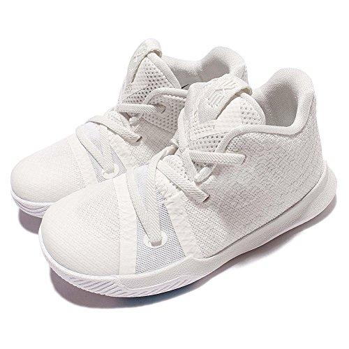 Nike Toddler's Kyrie 3 (TD) Ivory/Pale Grey-Light Bone Basketball Shoes (US 6c)