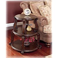 Brookfield Round Tiered End Table