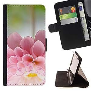 For Apple iPhone 5C Case , Flower Sun Summer Bloom Nature - la tarjeta de Crédito Slots PU Funda de cuero Monedero caso cubierta de piel