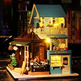 Rylai 3D Puzzles Miniature Dollhouse DIY Kit
