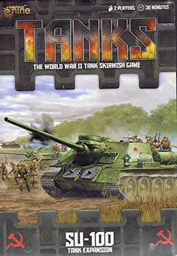 Tanks: Soviet SU-100 Tank Expansion Board Game by Battlefront ...