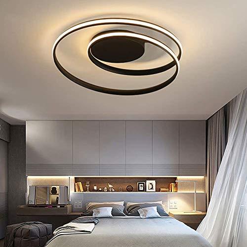 GWFVA Led-plafondlamp, modern, gebogen design, elegant, dimbaar, 3000 K6000 K, met afstandsbediening, voor…