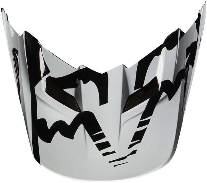 2X-Small//Small Black Fox Racing Race Visor Mens MX17 V1 Off-Road Motorcycle Helmet Accessories