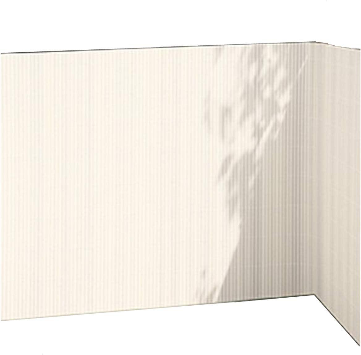 Amazon De Balkonsichtschutz Weiss 90x300 Kunststoff