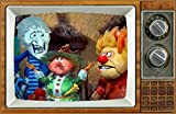 HEAT & SNOW MISER Mother Nature The Year Without Santa Claus 2' x 3' Fridge Magnet Refrigerator vintage image Gift retro Christmas