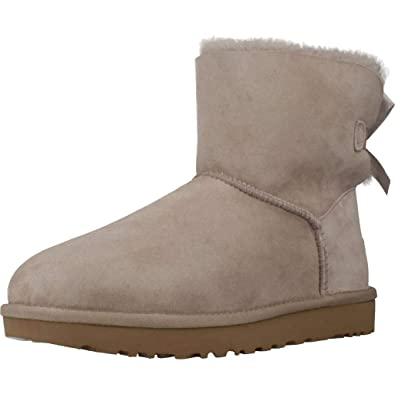 d076d79cefa7b UGG - Boots Mini Bailey Bow II - Oyster  Amazon.co.uk  Shoes   Bags