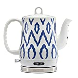 BELLA 1.2 L Electric Ceramic Tea Kettle Blue Aztec (Small Image)
