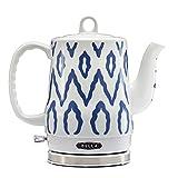 BELLA 1.2 Liter Electric Ceramic Tea Kettle with