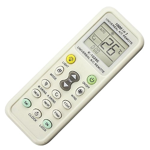 Daewoo Air Conditioning (Didihou Universal A/C Air Conditioner Conditioning Remote Control 1000 in 1 for MITSUBISHI TOSHIBA HITACHI FUJITSU DAEWOO LG SHARP SAMSUNG ELECTROLUX SANYO)