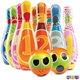 Play22 Kids Bowling Set with Carrying Bag