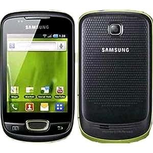 "Samsung Galaxy Mini GT-S5570 Negro, Verde - Smartphone (7,98 cm (3.14""), 240 x 320 Pixeles, TFT, 32 GB, 160 MB, 3 MP)"