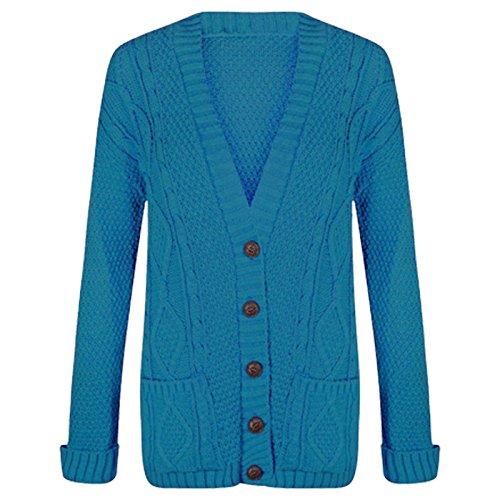 FZK FASHION FASHION FASHION Turquoise Gilet Femme Gilet FZK Turquoise Femme FZK 0fxqaOZw