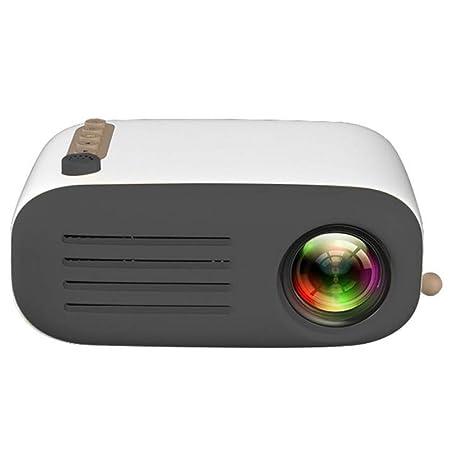 CZWNB Proyector Mini Inicio LED Ahorro de energía Proyector ...