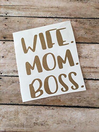 wife-mom-boss-decal-permanent-glitter-vinyl-mom-life