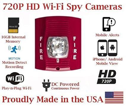 Amazon.com : SecureGuard 1080P HD WiFi Wireless IP Fire ...