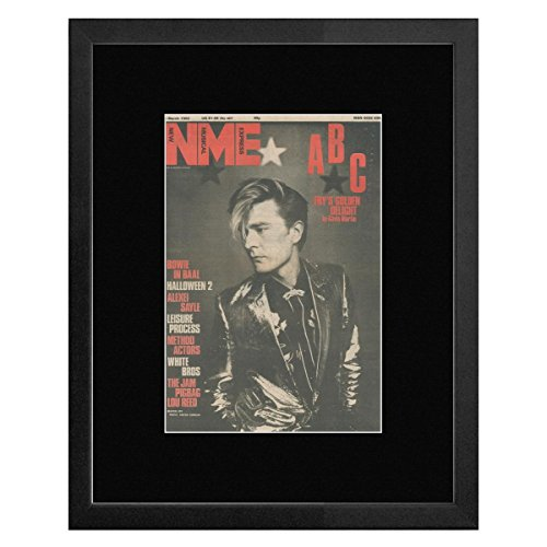ABC - NME Cover March 1982 With Martin Fry Framed and Mounted Print - 53x43cm (Abc Martin Fry compare prices)