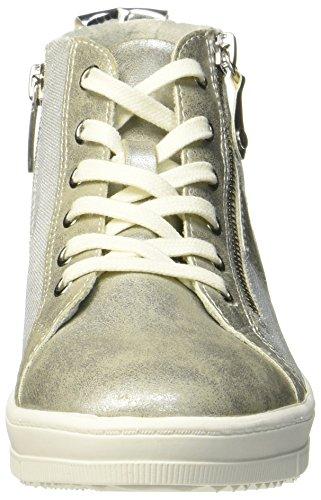 silver Argent Silber Tamaris 25213 Femme Comb Hautes Baskets 948 Comb qqXwv8