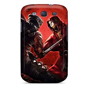 Tpu Case Cover For Galaxy S3 Strong Protect Case - Ninja Gaiden 3 Game Design