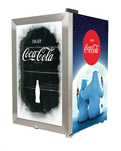 Nostalgia BC24COKE Coca-Cola 80-Can Commercial Beverage Cooler