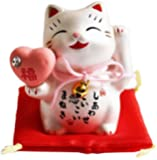 MITOUKAN Japanese Maneki Neko Beckoning Cat Lucky Cat Figurine It leads to love MINI