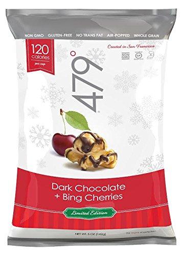 UPC 894942002938, 479 Degrees Artisan Popcorn, Bing Cherries + Dark Chocolate, 5 Ounce (Pack of 12)