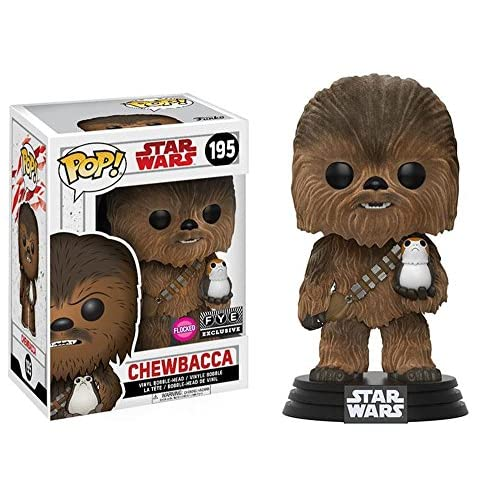 Funko POP! Star Wars: The Last Jedi - Chewbacca (Flocked) - FYE Exclusive