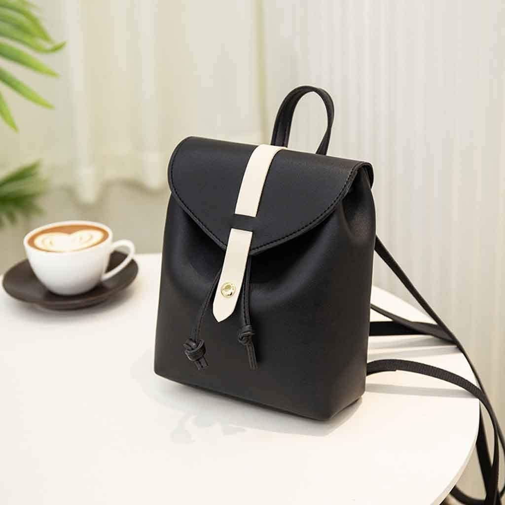 Fashion Small Backpack Lady Shoulders Letter Purse Mobile Phone Messenger Bag