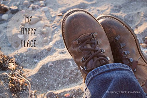 West Beach Pant (My Happy Place Beach Photo Unframed Casual Coastal Wall Art Sandy Seaside Photographic Print Hiking Travel Pacific Northwest Nature Photography 5x7 8x10 8x12 11x14 12x18 16x20 16x24 20x30 24x36)