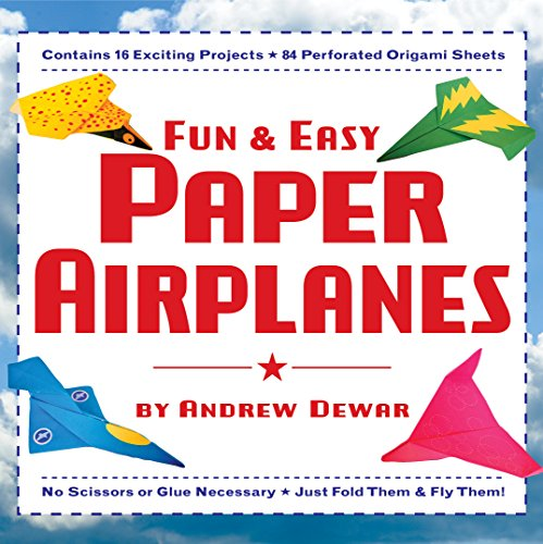 - Fun & Easy Paper Airplanes: This Easy Paper Airplanes Book Contains 16 Fun Projects, 84 Papers & Instruction Book: Great for Both Kids and Parents