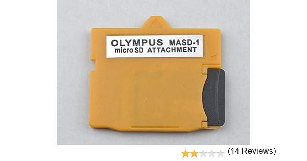 tinxi® MASD-1 adaptador micro SD tarjeta para OLYMPUS xD-Pintura Tarjeta Convertidor (consulte la lista de compatibilidad)