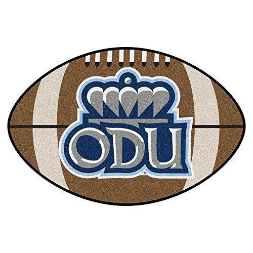 iversity Monarchs Football Shaped Mat Area Rug (Dominion Football)