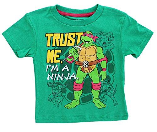 Todder TMNT Trust Me Im A Ninja T Shirt (Donetello Ninja Turtle)