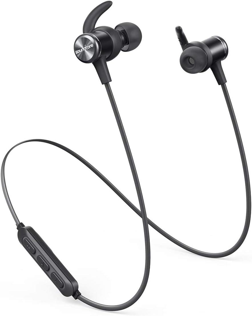 Anker Ak A3403011 Soundcore Spirit Sports Earbuds Bluetooth 5 0 8h Battery Ipx7 Waterproof Sweatguard Comfortable Wireless Headphones Secure Fit For Running Gym Workout Price In Saudi Arabia Amazon Saudi Arabia Kanbkam